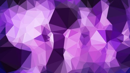 Abstract Cool Purple Triangle Geometric Background