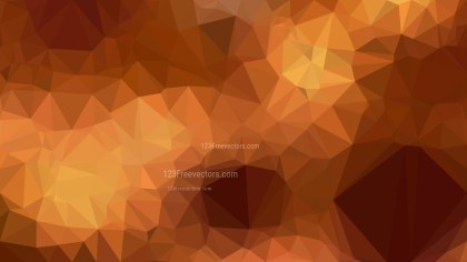 Copper Color Low Poly Background