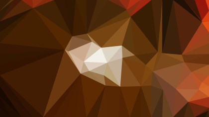 Dark Brown Polygon Pattern Abstract Background