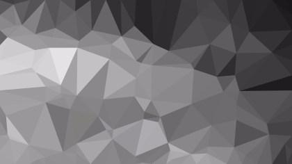 Abstract Dark Grey Polygonal Background Design