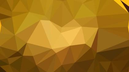 Dark Orange Polygon Pattern Background Illustration
