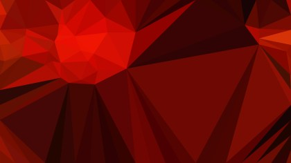 Dark Red Polygon Triangle Background Vector Image