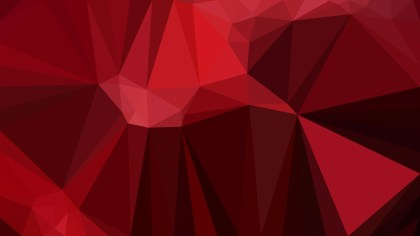 Dark Red Low Poly Background Design Graphic
