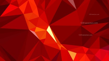 Abstract Dark Red Polygon Background Template