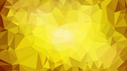 Abstract Gold Low Poly Background Design