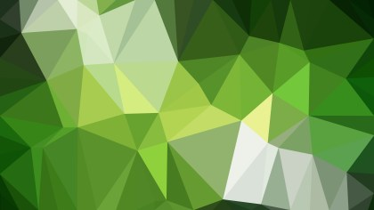 Green Polygon Abstract Background Vector Graphic