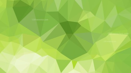 Green Low Poly Abstract Background Design