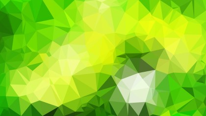Green and Yellow Polygonal Background Image