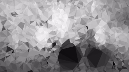 Gray Low Poly Background