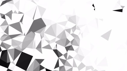 Abstract Grey and White Polygon Background Design