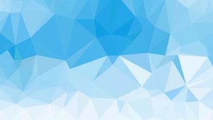 Light Blue Polygon Background