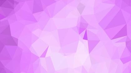 Abstract Light Purple Polygonal Background Template Illustrator