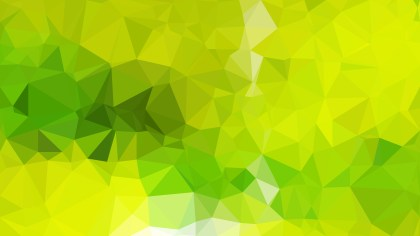 Abstract Lime Green Polygon Triangle Background Vector Image