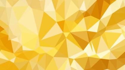Orange Polygon Background Design
