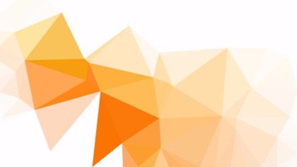 Abstract Orange and White Triangle Geometric Background Illustration