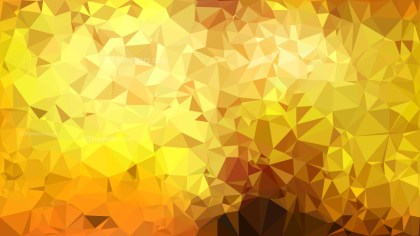 Orange and Yellow Polygon Background