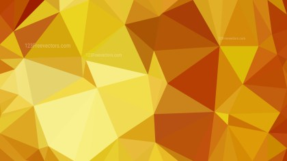 Orange and Yellow Polygon Background Design Graphic