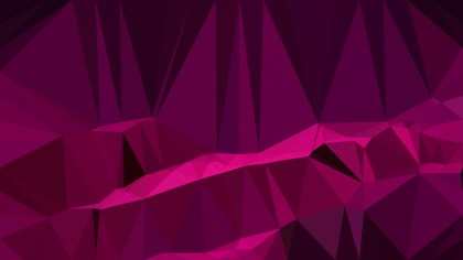 Abstract Pink and Black Polygon Background Graphic Design Image
