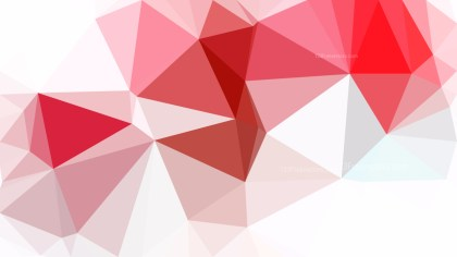 Pink and White Polygon Background Graphic Design Vector Art