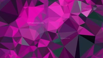 Purple and Black Polygon Background Graphic Design