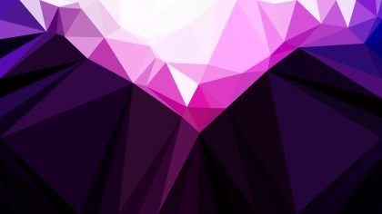 Purple Black and White Geometric Polygon Background Vector