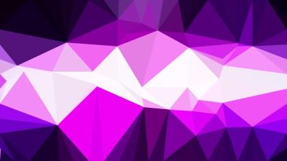Purple Black and White Polygon Background Design