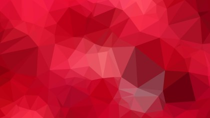 Abstract Red Polygon Background Graphic Design Image
