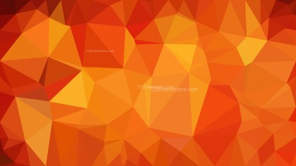 Abstract Red and Orange Polygon Background Graphic Design Vector Image