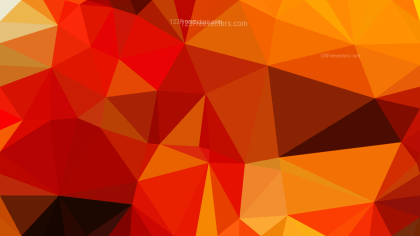 Red and Orange Polygon Background Template Graphic