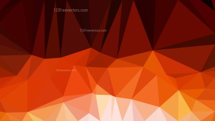 Red and Orange Polygonal Abstract Background Design