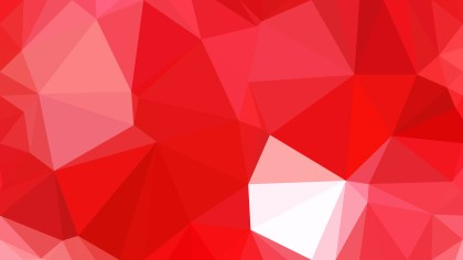 Red and White Polygonal Background Design Illustration