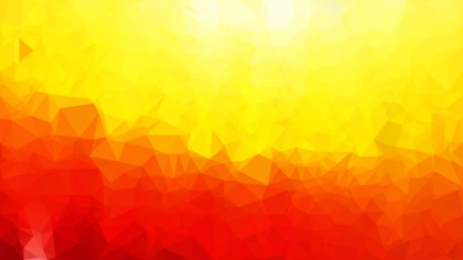 Abstract Red and Yellow Polygon Background
