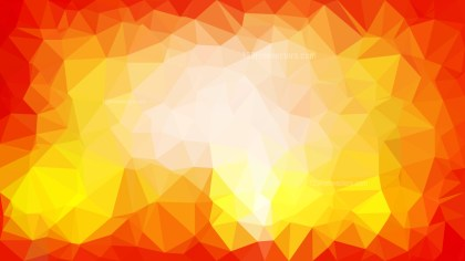 Red White and Yellow Polygonal Background Template