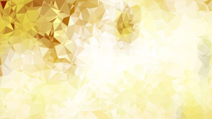 Abstract White and Gold Polygon Background Template Design