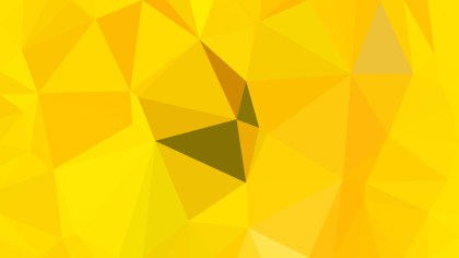 Abstract Yellow Polygonal Background Template Illustrator