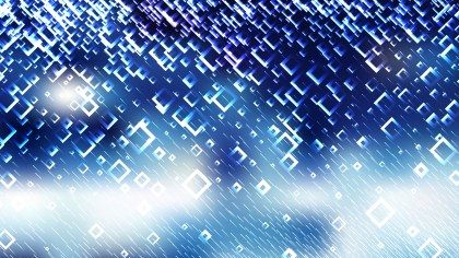 Abstract Blue and White Square Modern Background Vector