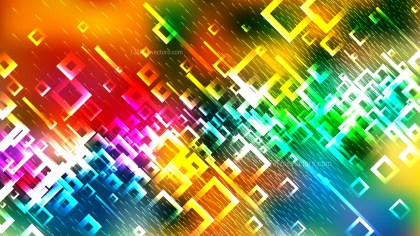Abstract Colorful Modern Square Background