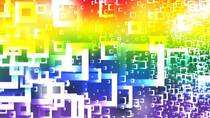 Colorful Modern Square Abstract Background