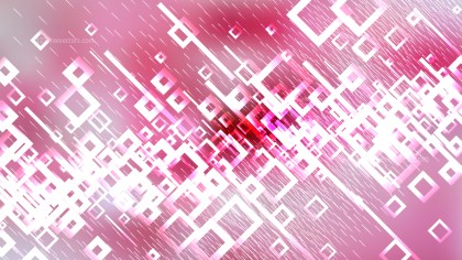 Pink and White Square Modern Background Vector Illustration
