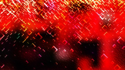 Red and Black Abstract Modern Square Background