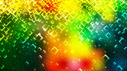 Red Yellow and Green Square Modern Background Vector Image