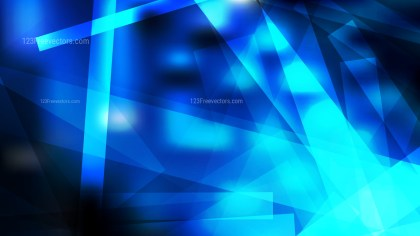 Black and Blue Geometric Abstract Background Vector Image