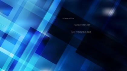 Abstract Black and Blue Modern Geometric Background Vector