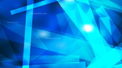 Blue Lines Stripes and Shapes Background