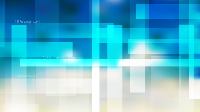 Blue and Beige Modern Geometric Background Vector Image