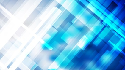 Blue and White Geometric Background Graphic