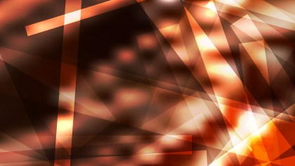 Coffee Brown Geometric Shapes Background