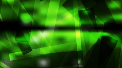 Cool Green Modern Geometric Background Image