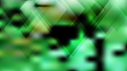 Green and Black Modern Geometric Background Image