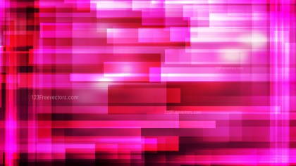 Hot Pink Lines Stripes and Shapes Background